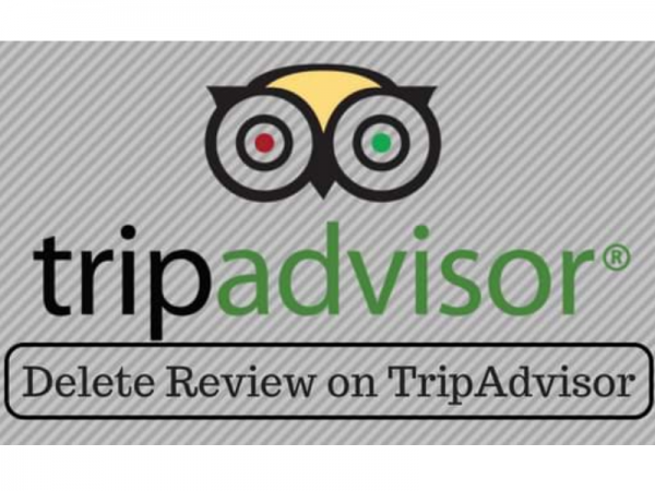 remove bad TripAdvisor reviews
