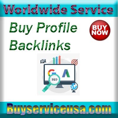Buy Profile Backlinks